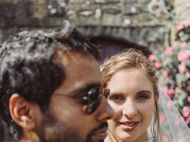 Le mariage de Abhishek et Camille à Nantes, Loire Atlantique 47