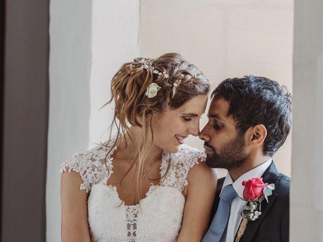 Le mariage de Abhishek et Camille à Nantes, Loire Atlantique 56