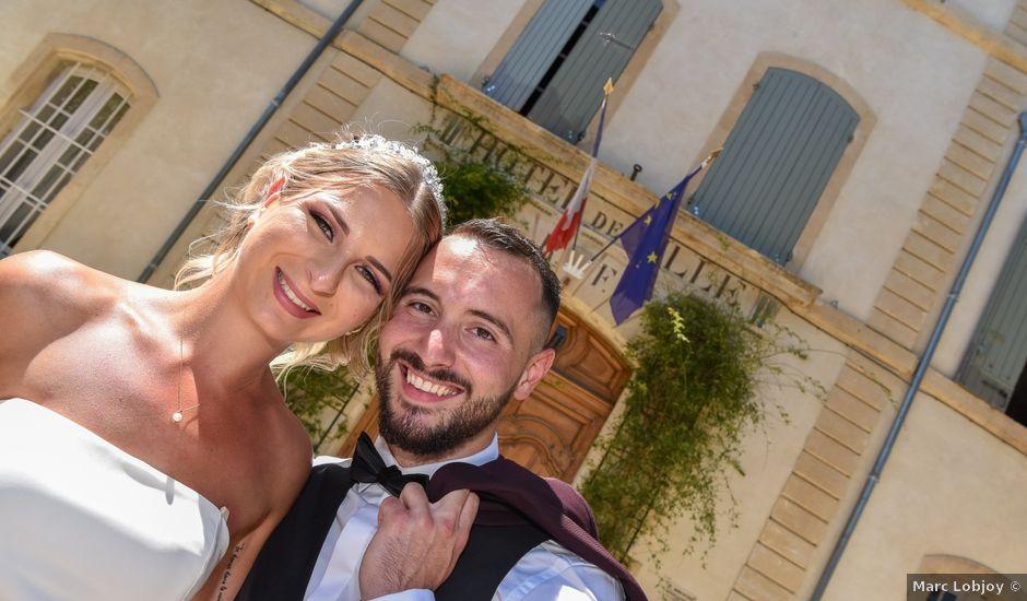 Le mariage de Ianis et Marina à Visan, Vaucluse