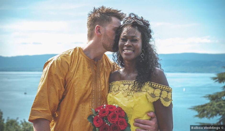 Le mariage de Anthony et Siga à Thonon-les-Bains, Haute-Savoie