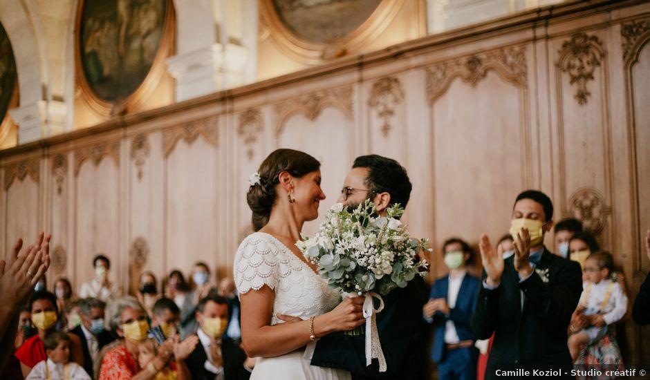 Le mariage de Jaafar et Gabrielle à Caen, Calvados