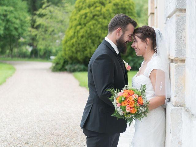 Le mariage de Cédric et Caroline à Hondouville, Eure 10