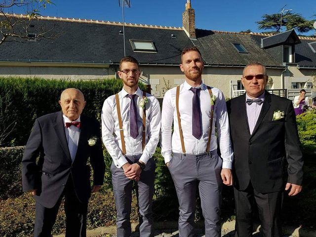 Le mariage de Fabrice et Aurore  à Ambillou, Indre-et-Loire 14
