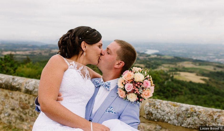 Le mariage de Laurent et Florianne à Saint-Romain-de-Lerps, Ardèche