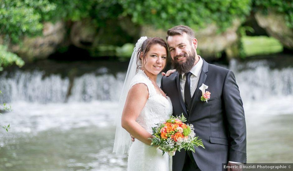 Le mariage de Cédric et Caroline à Hondouville, Eure