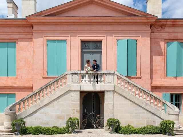 Le mariage de Florian et Marie à Bordeaux, Gironde 2