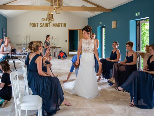 Le mariage de Florian et Marie à Bordeaux, Gironde 40