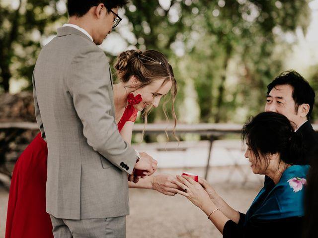Le mariage de Wen et Raphaëlle à Les Arcs, Var 6