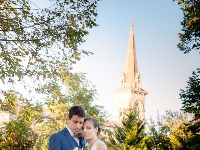 Le mariage de antoine et emilie à Auros, Gironde 35