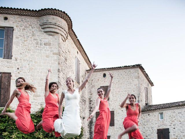 Le mariage de antoine et emilie à Auros, Gironde 40