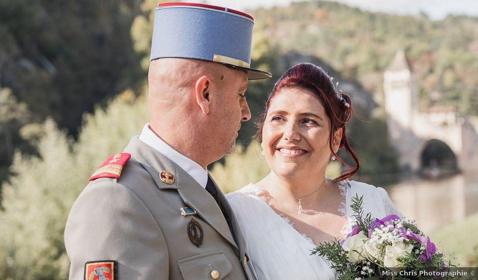 Le mariage de Frédéric et Audrey à Cahors, Lot