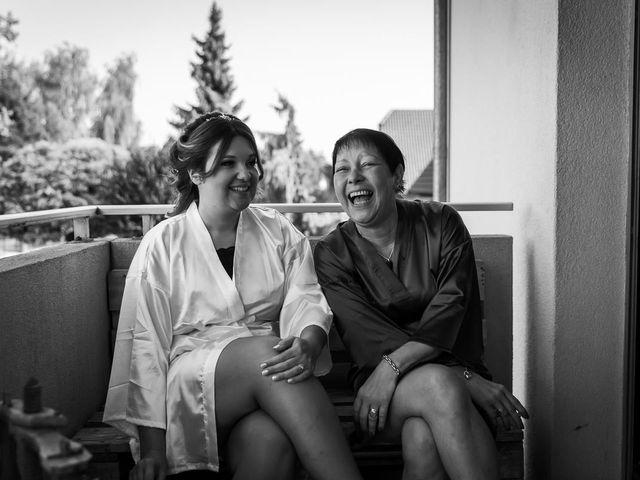 Le mariage de Logan et Marion à Souffelweyersheim, Bas Rhin 4
