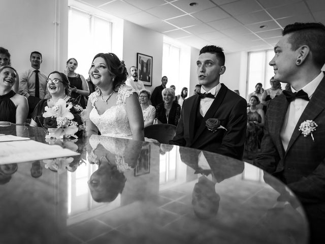 Le mariage de Logan et Marion à Souffelweyersheim, Bas Rhin 20
