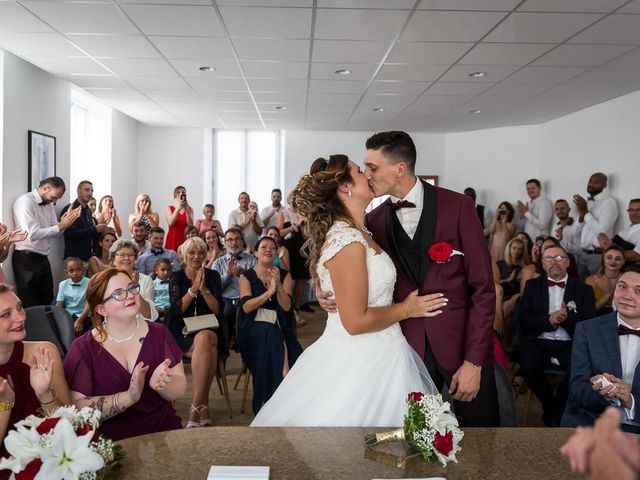 Le mariage de Logan et Marion à Souffelweyersheim, Bas Rhin 23