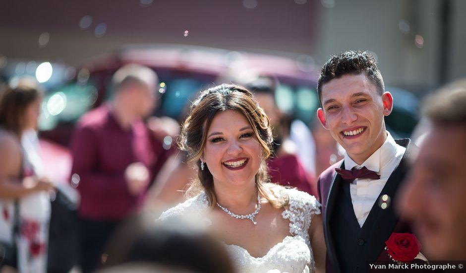 Le mariage de Logan et Marion à Souffelweyersheim, Bas Rhin