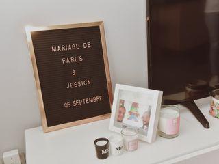 Le mariage de Jessica et Farès 3
