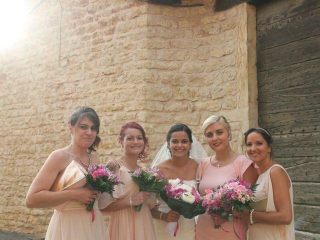 Le mariage de Jérémy et Océane à Lacenas, Rhône 12