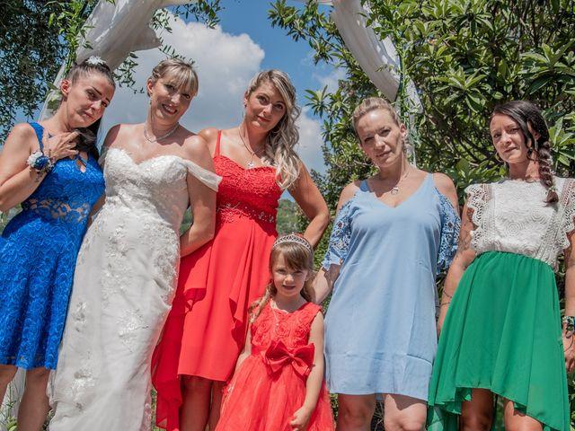 Le mariage de Serge et Audrey à Contes, Alpes-Maritimes 17
