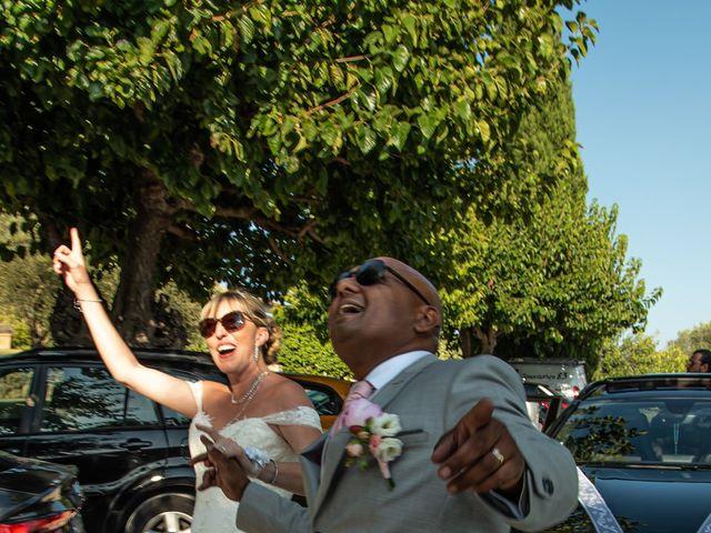 Le mariage de Serge et Audrey à Contes, Alpes-Maritimes 40