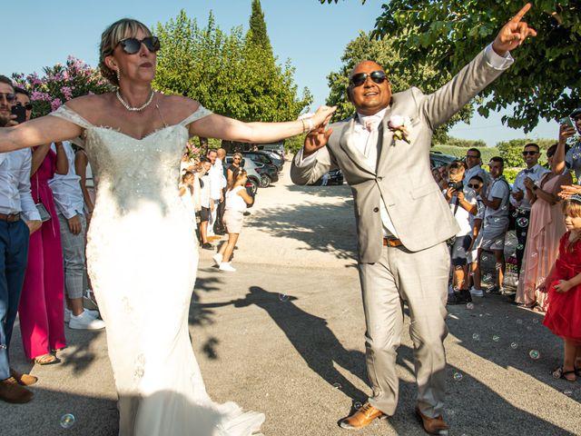 Le mariage de Serge et Audrey à Contes, Alpes-Maritimes 41