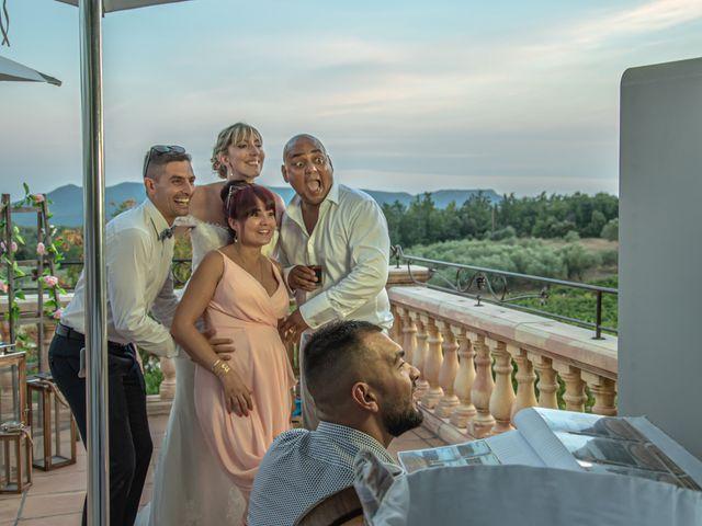 Le mariage de Serge et Audrey à Contes, Alpes-Maritimes 69