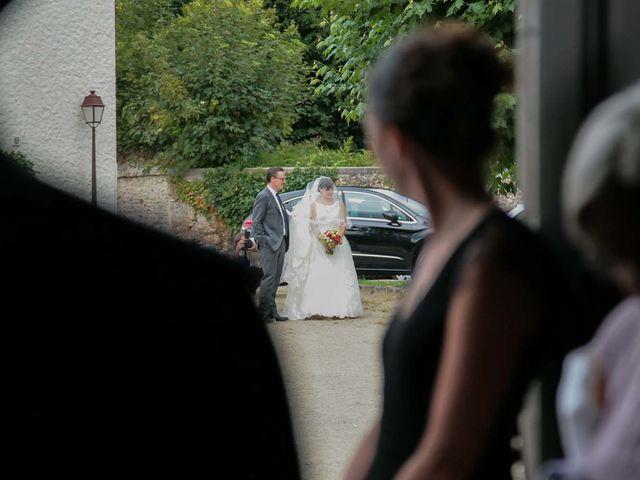 Le mariage de David et Marie à Hanches, Eure-et-Loir 16
