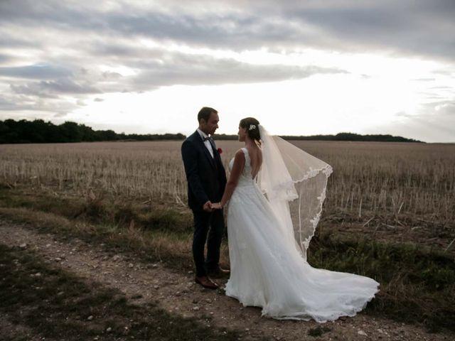 Le mariage de David et Marie à Hanches, Eure-et-Loir 75