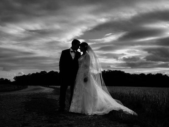 Le mariage de David et Marie à Hanches, Eure-et-Loir 77