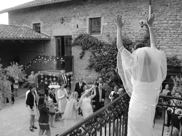 Le mariage de Jérémy et Océane à Lacenas, Rhône 1
