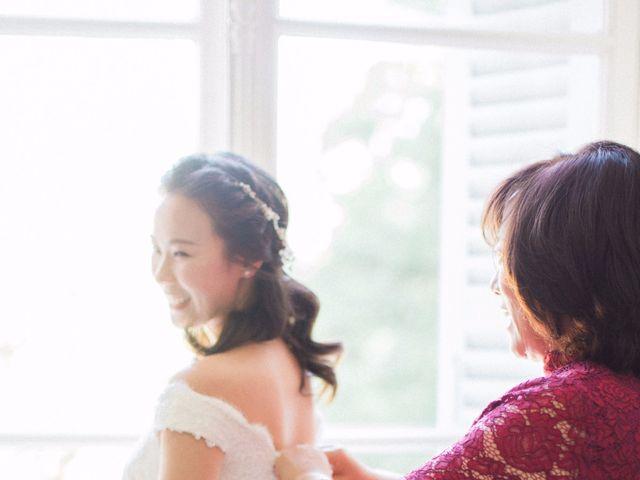 Le mariage de Lingtao et Xue à Santeny, Val-de-Marne 13