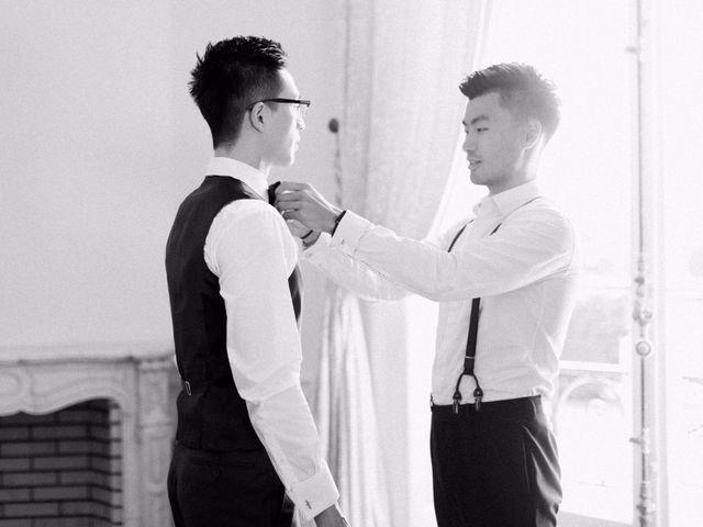 Le mariage de Lingtao et Xue à Santeny, Val-de-Marne 23