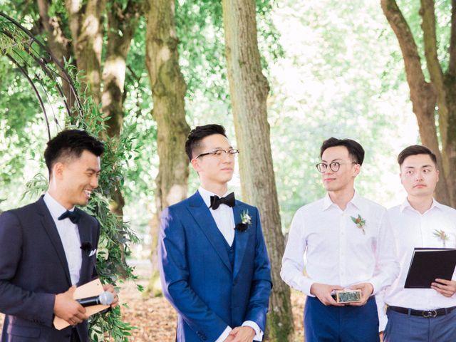 Le mariage de Lingtao et Xue à Santeny, Val-de-Marne 34