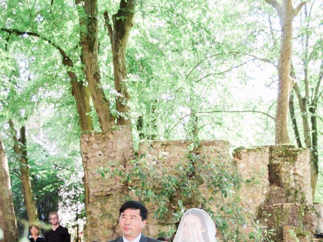 Le mariage de Lingtao et Xue à Santeny, Val-de-Marne 36