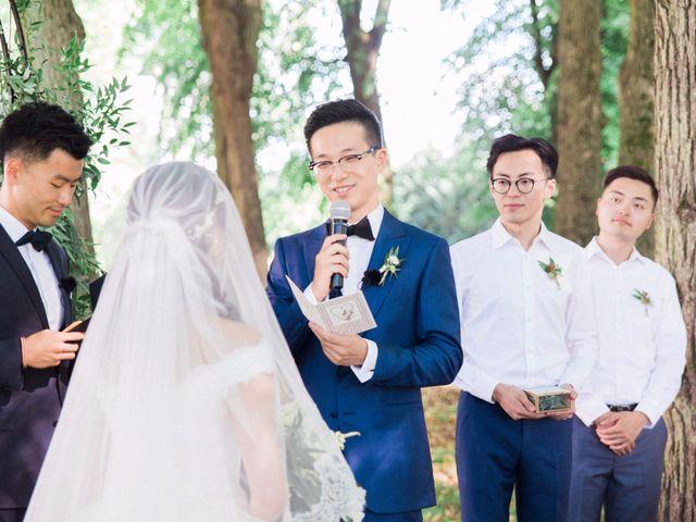 Le mariage de Lingtao et Xue à Santeny, Val-de-Marne 37