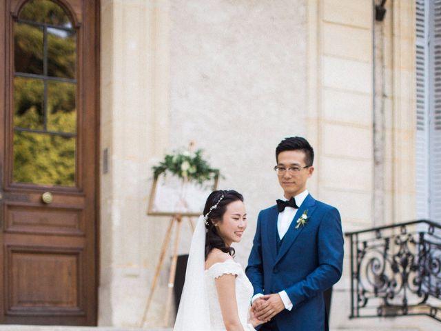 Le mariage de Lingtao et Xue à Santeny, Val-de-Marne 44