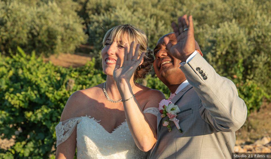 Le mariage de Serge et Audrey à Contes, Alpes-Maritimes