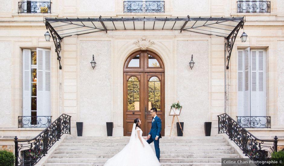 Le mariage de Lingtao et Xue à Santeny, Val-de-Marne