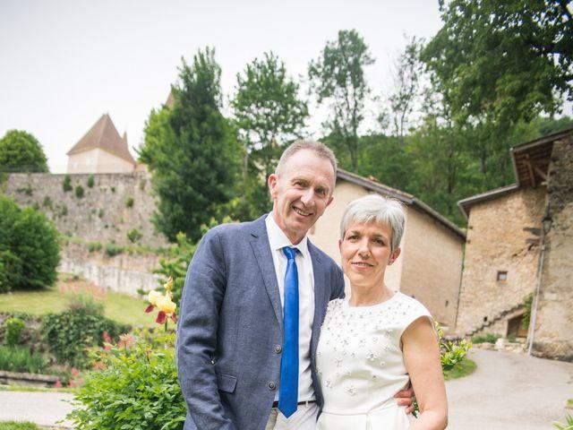 Le mariage de Laurence et Domnique à Saint-Sorlin-en-Bugey, Ain 5