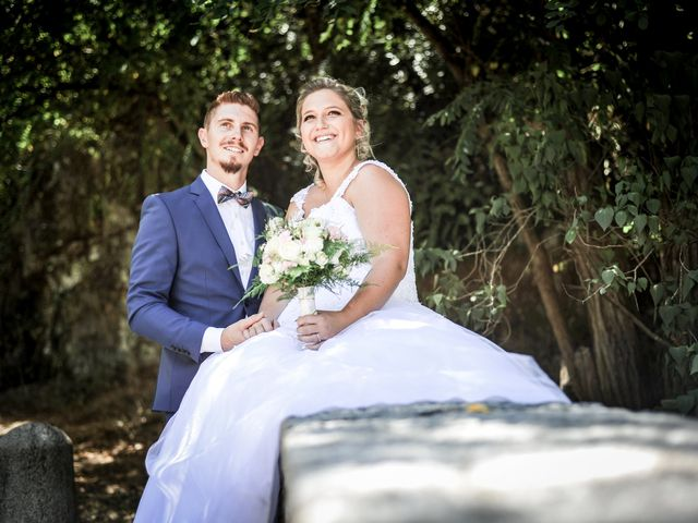 Le mariage de Jocelyn et Leslie à Saint-Clair, Ardèche 3