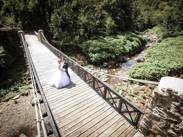 Le mariage de Jocelyn et Leslie à Saint-Clair, Ardèche 5