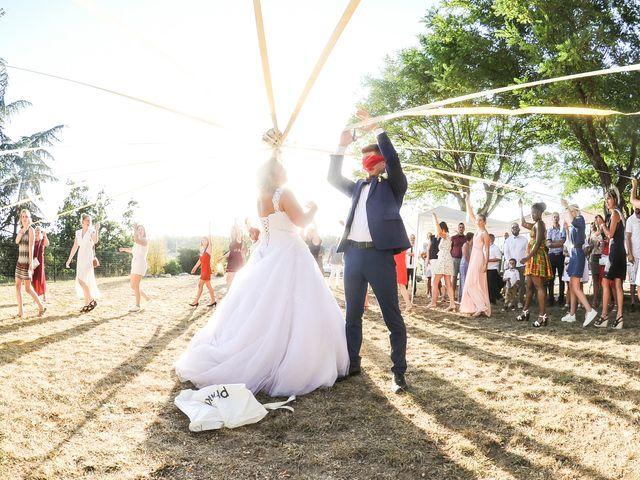 Le mariage de Jocelyn et Leslie à Saint-Clair, Ardèche 6