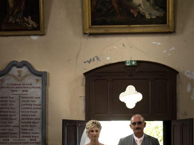 Le mariage de Julien et Mélanie à Ranchot, Jura 34