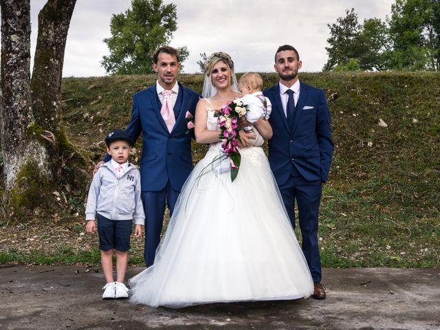 Le mariage de Julien et Mélanie à Ranchot, Jura 64