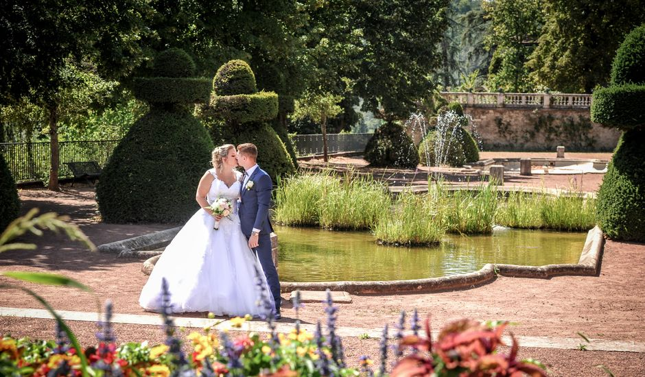 Le mariage de Jocelyn et Leslie à Saint-Clair, Ardèche