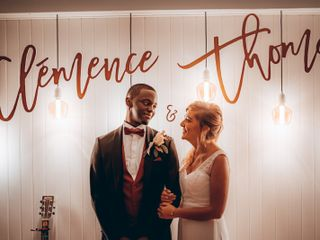 Le mariage de Clémence  et Thomas