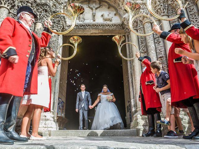 Le mariage de Bertrand et Marion à Pont L'Abbé d'Arnoult, Charente Maritime 19