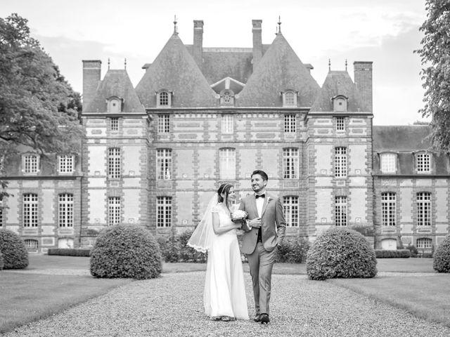 Le mariage de Felipe et Aline à Lyons-la-Forêt, Eure 50