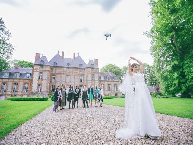 Le mariage de Felipe et Aline à Lyons-la-Forêt, Eure 56