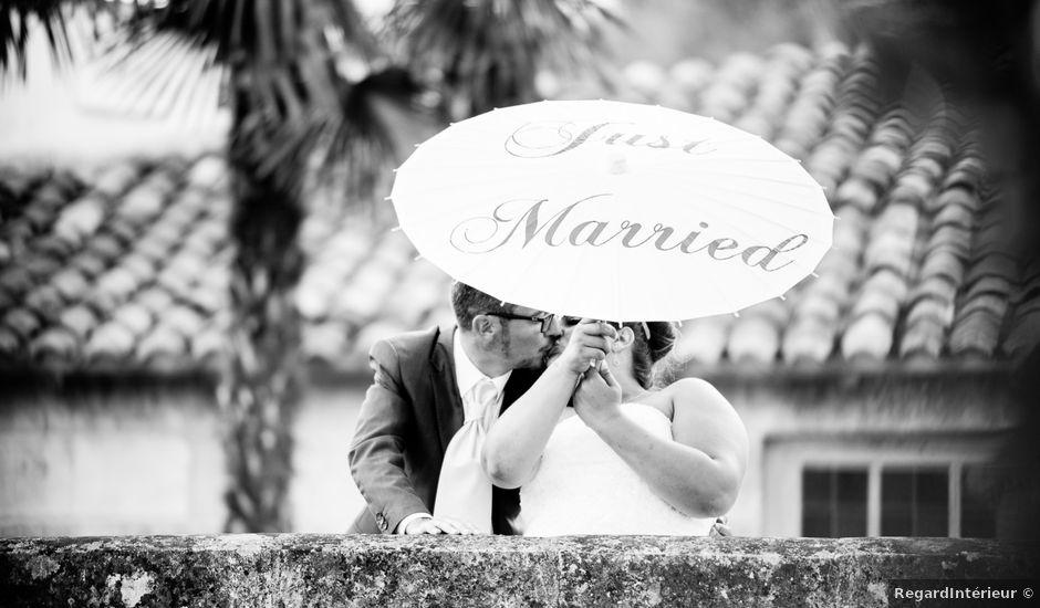 Le mariage de Bertrand et Marion à Pont L'Abbé d'Arnoult, Charente Maritime
