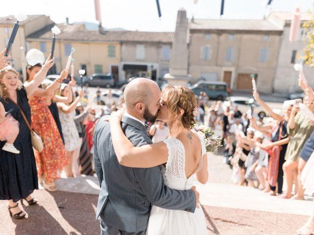 Le mariage de Mathieu et Jade à Allan, Drôme 22